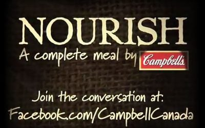 'On Black Meldon' used on Campbell's 'Nourish' video